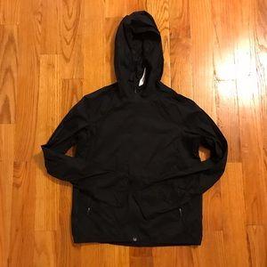 Lululemon black windbreaker jacket